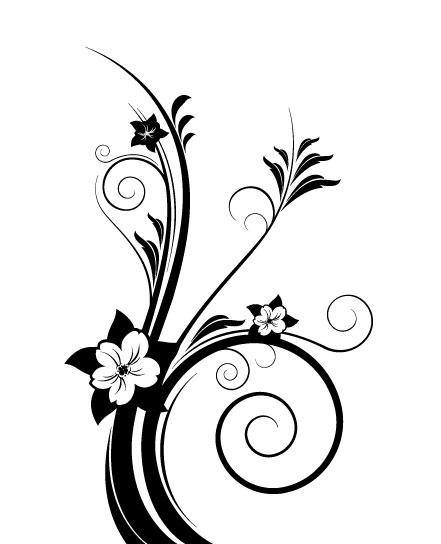 Line Art Flower Sticker Design : Moved permanently